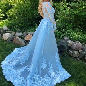 de34c1b8cf Sherri Hill Dresses - Sherri Hill 52026 light blue prom dress